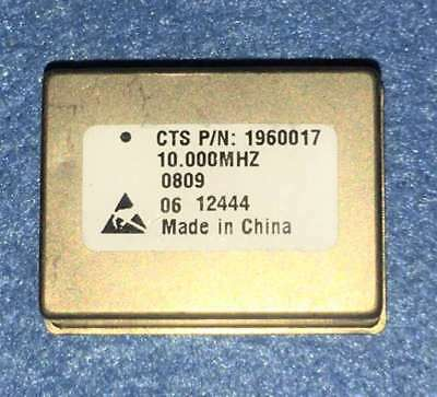 CTS 1960017 OCXO 10Mhz Oven Controlled Crystal Oscillator +5V Bid from $1