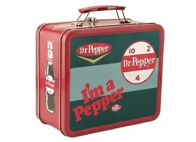 NEW - Dr. Pepper I'm a Pepper 2007 Tin Lunch Box Soda Pop Collector