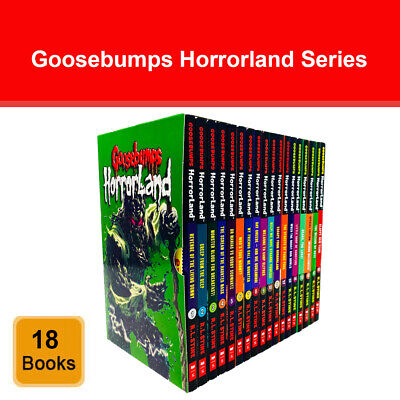 Goosebumps Horrorland series Collection R L Stine 18 Books Set Children's Pack
