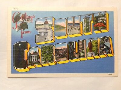 Greetings From South Carolina *Request Combined Shipping BEFORE You Pay*