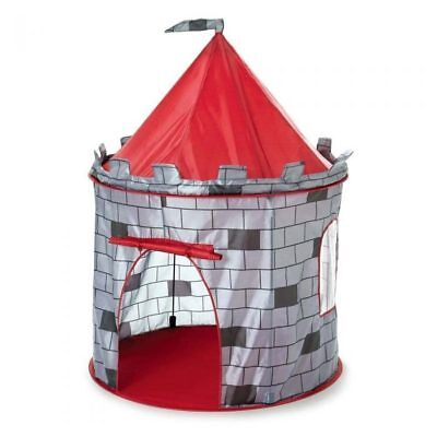 Kids pop up Knights Castle Tent Play Tent Girls Boys Play Castle