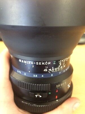 MAMIYA Sekor Z 127mm F3.8 W MF Lens For RZ67 With M77 Hood