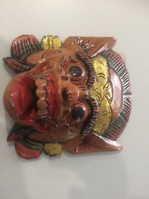 Barong masks - Wooden carved and hand painted Bali