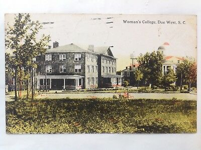 Woman's College, Due West, SC*Request Combined Shipping BEFORE You Pay*