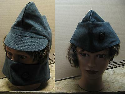 LOT OF 2 Swiss military hat cap plus winter mask all in 1! Great cond! 58+59 cm.