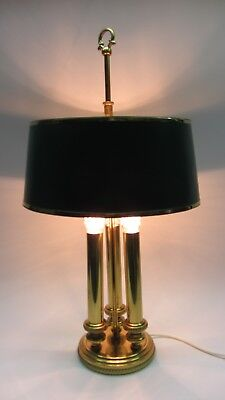 Bouillotte Lampe Tischlampe Messing Leuchte french Empire
