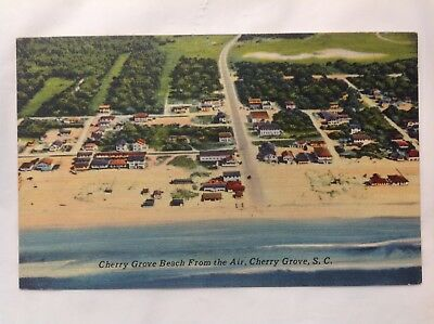 Air View Of Cherry Grove Beach, SC*Request Combined Shipping BEFORE You Pay*