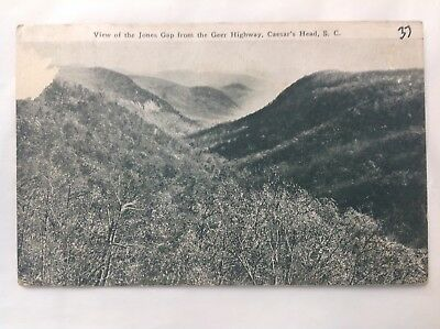 View Of Jones Gap, Caesar's Head, SC*Request Combined Shipping BEFORE You Pay*