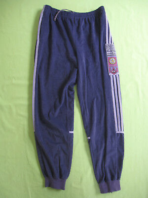 PANTALON ADIDAS MAGIC Moment 80'S Velour Survetement vintage Violet 180 L