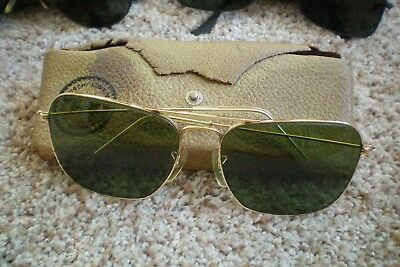 Vintage B&L Ray Ban 58-16 Caravan Style Sunglasses in Case....Nice One!