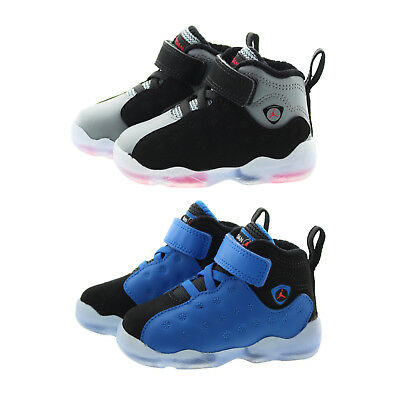 4dd5257a764104 Nike 861434 Toddler Child Air Jordan Jumpman Team II Mid Top Shoes Sneakers