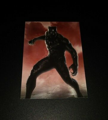 Black Panther #80 Trading Card Sammel Karte Panini 2017 Marvel Civil War Avenger