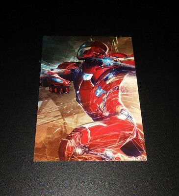 Iron Man #35 Trading Card Sammel Karte Panini 2017 Marvel Avengers Civil War