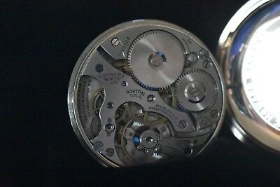 16s E.Howard Chronometer 21j Railroad Pocket Watch