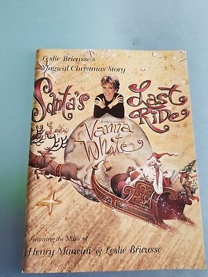 "Vintage 1996 ""Magical Christmas Story"" Booklet by Leslie Bricusse's"