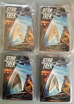 Star Trek Metal Uniform Insignia/Badge Lot