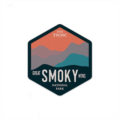 Great Smoky Mountains National Park Sticker | National Park Decal