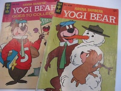 Hanna-Barbera Yogi Bear, The Flintstones, Gold Key comics