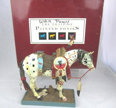 2003 The Trail of Painted Ponies War Pony #1452 retired 12E/6,747 Box