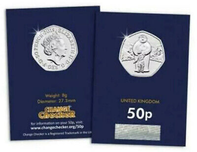 2019 UK The Snowman CERTIFIED BU 50p The Snowman and James