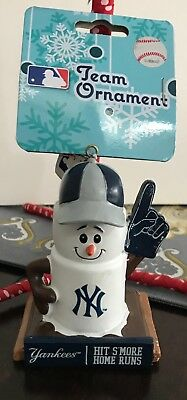 New York Yankees MLB S'mores Hit S'more Home Runs Ornament New