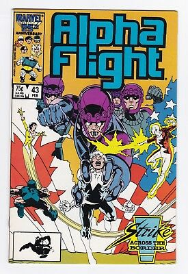 Marvel Comics: Alpha Flight #43/#44/#45 - Three Issues!