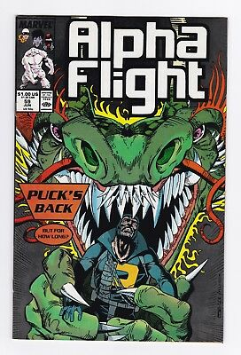 Marvel Comics: Alpha Flight #59/#60/#61/#62 - Four Issues!