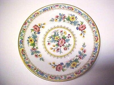 "BEAUTIFUL Vintage Coalport 5 1/2"" Saucer Ming Rose Fine Bone China England M635"