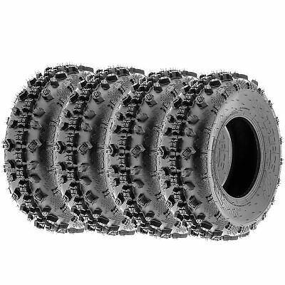 Terache T-Force MX A/T  Replacement ATV Tires 6 Ply 20x6-10 20x6x10  [Set of 4]