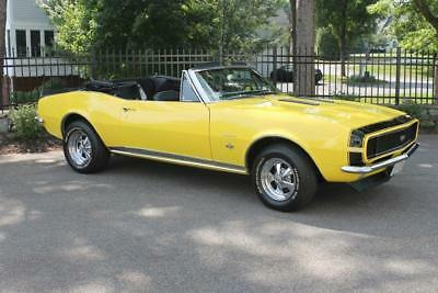 1967 Chevrolet Camaro RS/SS 1967 Camaro Convertable RS SS 350 4 Speed #matching