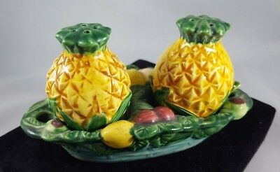 Pineapple Salt and Pepper Shakers, Made in Japan