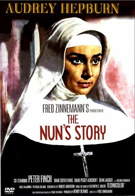 The Nun's Story (1958), Audrey Hepburn, Peter Finch (New, Factory Sealed)