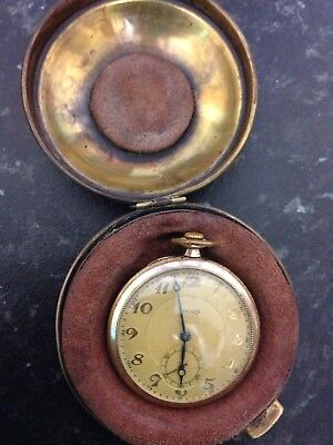 Pocket Clock very old good condition