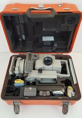 Sokkia SET2C II Intelligent Total Station Case, Manuals, Batteries, Charger