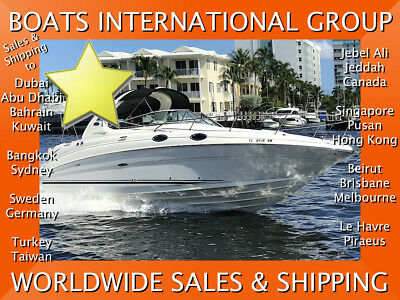 2009 Sea Ray 280 Sundancer 31 foot AC + Gen no bottom paint We ship worldwide