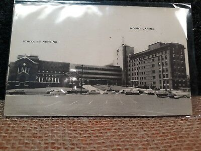 Vintage 1950s Mt Caramel Hospital Columbus Ohio Post Card