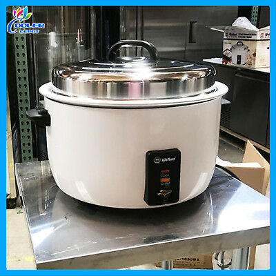 55 Cup Rice Cooker Commercial Warmer NSF NEW Cooler Depot