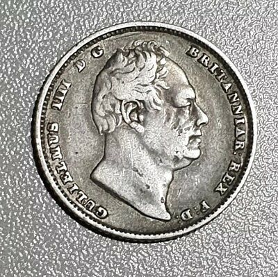 1834 William IV Silver Sixpence | British Coins | 6d Six Pence Coin