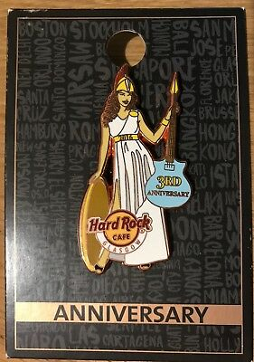 HARD ROCK CAFE GLASGOW 2016 3rd ANNIVERSARY PIN LE300