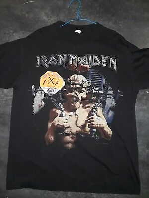 Iron maiden tee shirt X Factour And Backstage Pass
