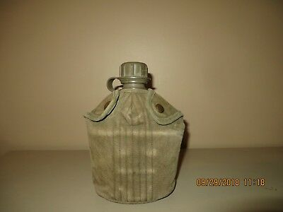 Vietnam Era US Army M1961 Plastic Canteen With M1956 Canvas Cover GUC