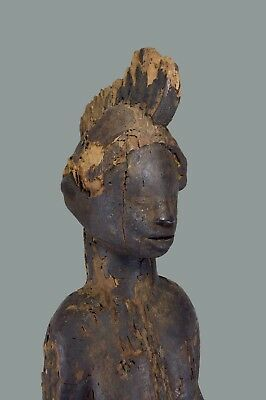 A Very Rare Old Igbo Alusi Shrine Deity sculpture, African Art