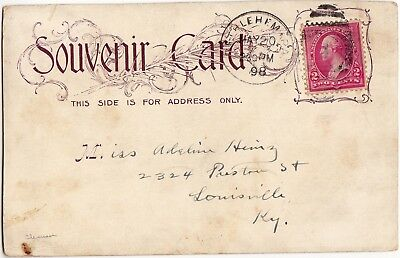 """Pioneer Postcard """"Remember the Maine"""" postmarked 5-20-1898   z"""