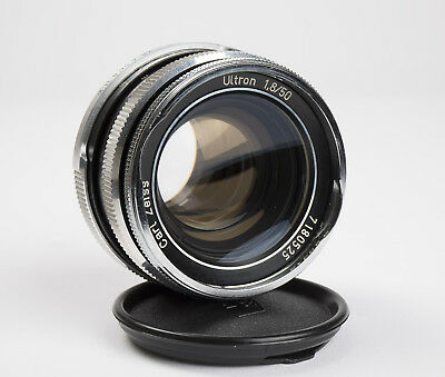 Rare Zeiss Ultragon 50mm F1.8 Prime Lens w/ Concave Front Element