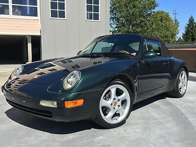 1998 Porsche 911 993 CABRIOLET 3.6L 1998 PORSCHE 911 993 CABRIO TIPTRONIC CLEAN CARFAX CD NO ISSUES JUST SERVICED