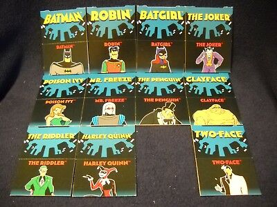 1995 ACTION PACKS Adventures of Batman & Robin POP-UP Card LOT 11 Missing #11