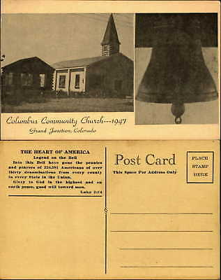 Columbus Community Church Grand Junction Colorado Legend of the Bell