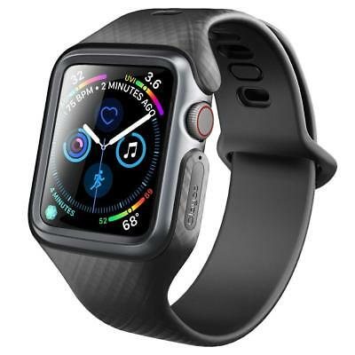CLAYCO® APPLE WATCH 4 (44mm) [HERA] SCHUTZHÜLLE COVER CASE MIT ARMBAND