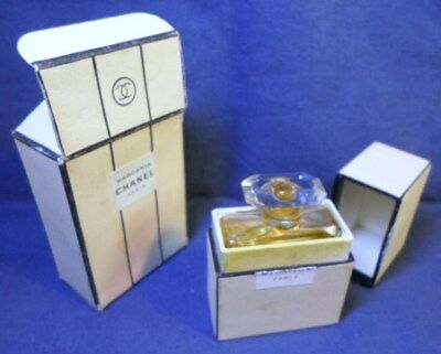 CHANEL GARDENIA No 200 Extrait TPM Perfume 2 Original Boxes Empty Made in France