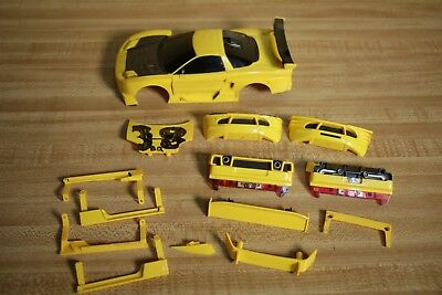 XMODS RC CAR Yellow Acura NSX Parts No Chassis PicClick - Acura nsx parts